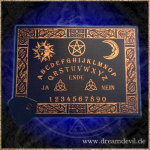 Witchboard Celtic schwarz